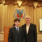 Лучший спортсмен Алтайского края 2012 года